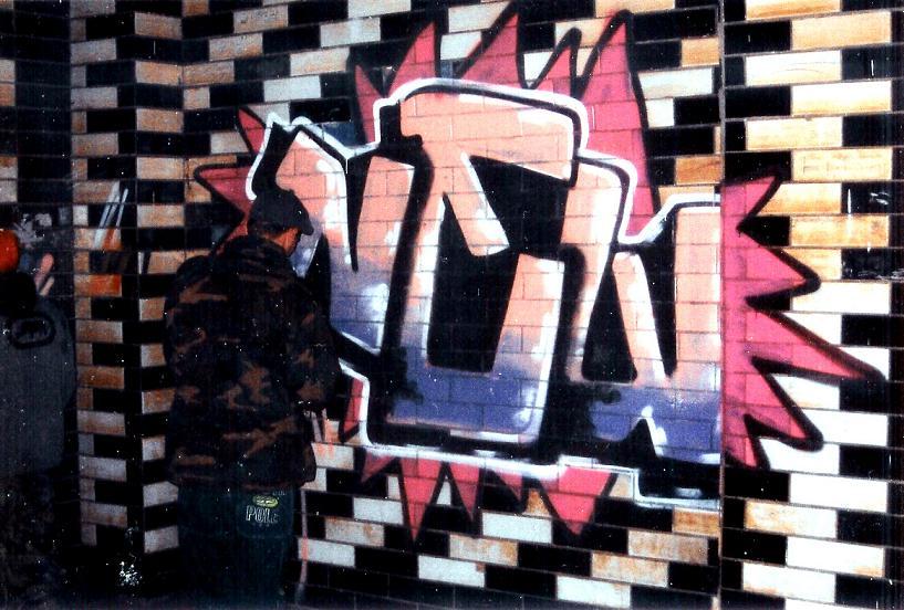 один из представителей граффити