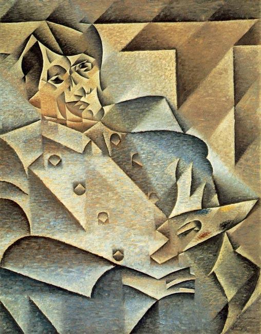 """Грис """"портрет Пикассо"""""""