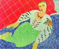 Анри Матисс. Персидское платье. 1937