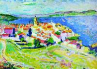 Анри Матисс. Вид Сан-Тропеза. 1904